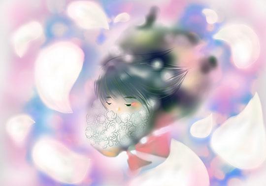 悲しみの花